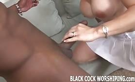 il cazzo nero che piace alla mogliettina porca