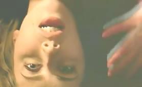 Loredana Cannata in scena porno ripresa dal film La donna lupo