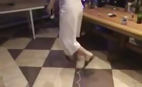 casada se da un festin