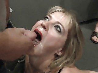 Bukkake moglie troia